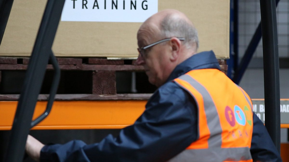 Forklift training near me