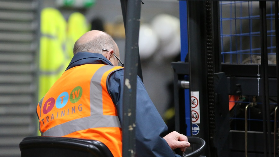 FLT Training Courses (Forklift) in Widnes